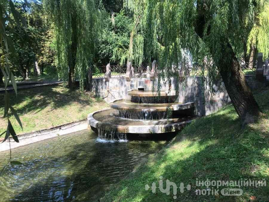 фонтани у парку Шевченка