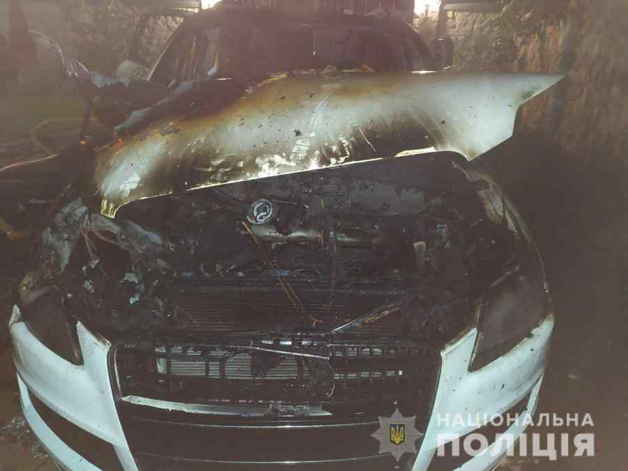49-річному рівнянину спалили машину