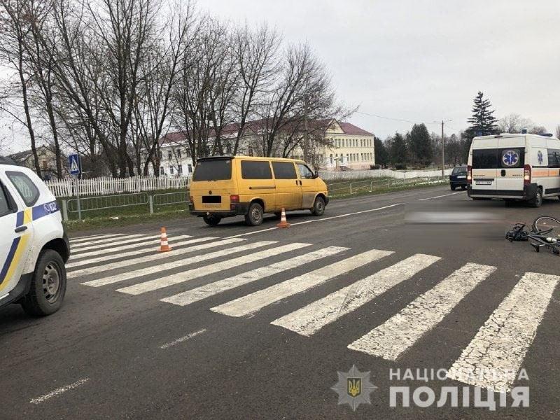8-річний школяр загинув у Клевані на переході під колесами авто