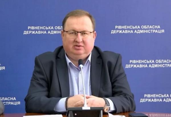 Олег Вівсяник, начальник управління охорони здоров'я Рівненської ОДА