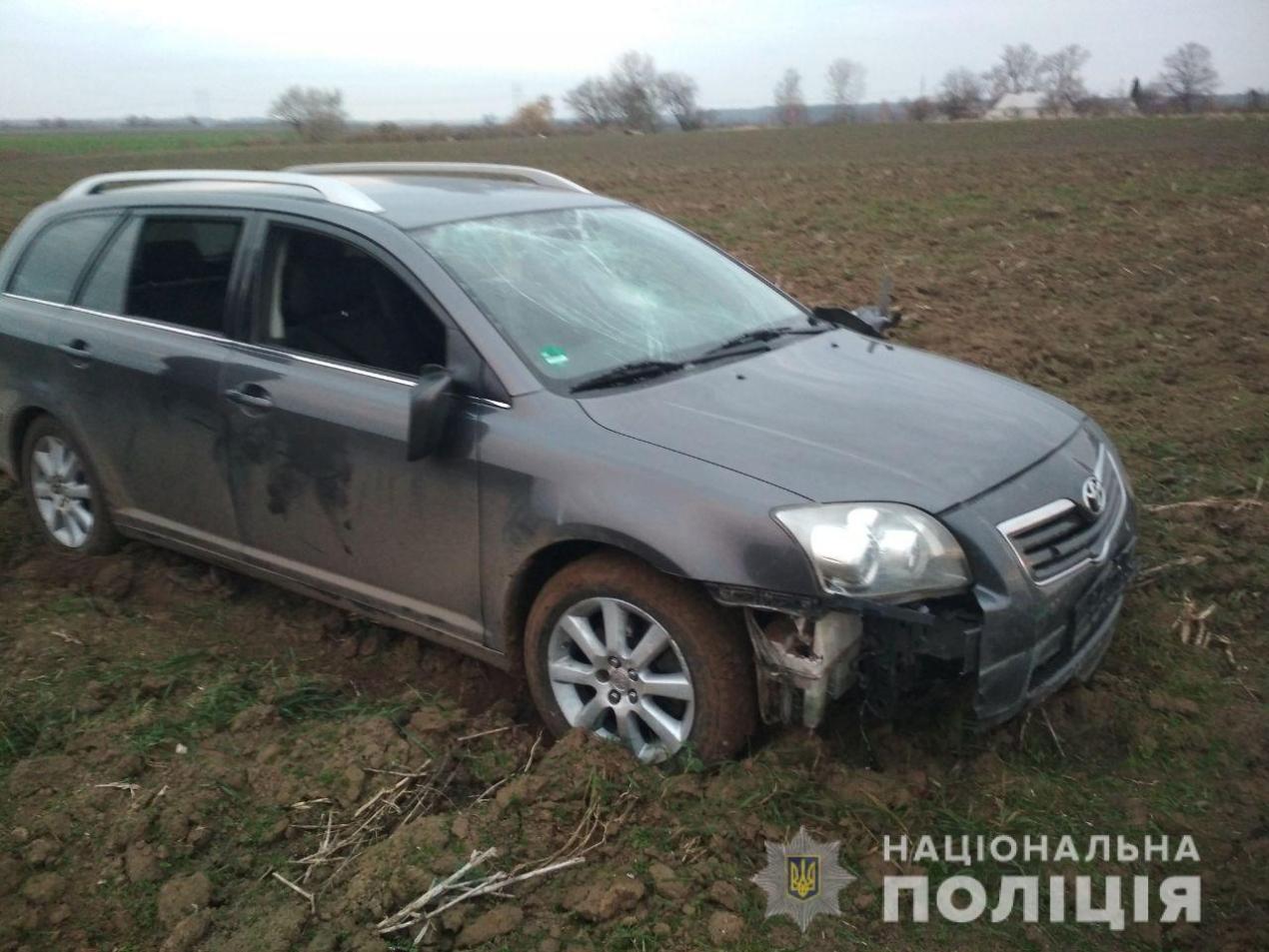 Четверо хмельничан затримали за угон та ДТП в Острозькому районі