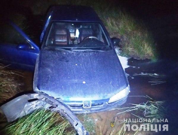 П'яний водій на Рівненщині після погоні та ДТП пропонував хабар поліцейським