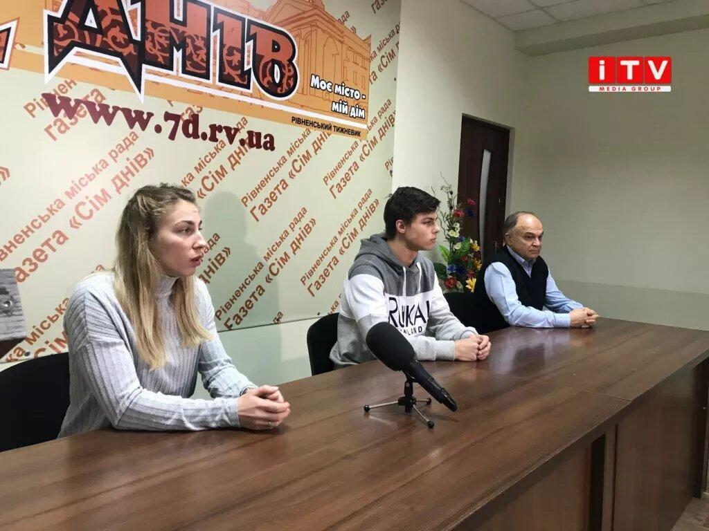 Рівненські фрістайлери-медалісти дали брифінг щодо участі в Кубку Європи