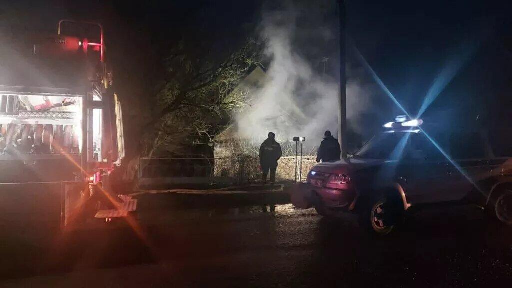 Вогонь вщент знищив будинок на Рівненщині