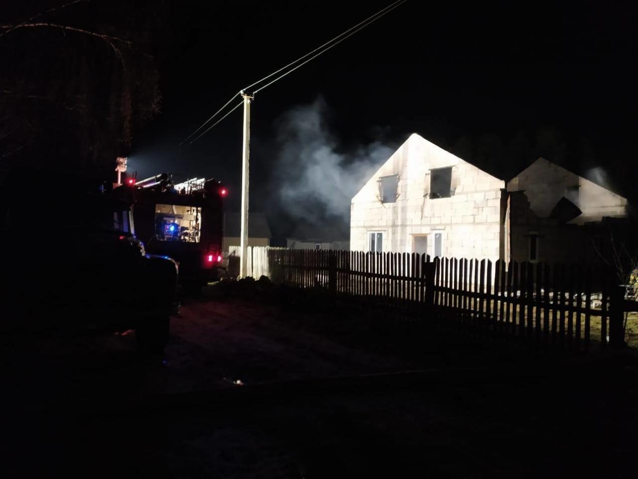 На Сарненщині ледь не згорів житловий будинок