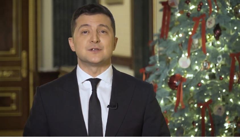 Президент привітав з Новим роком Рівненщину (відео)