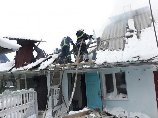 На Острожчині пожежа зрайнувала житловий будинок