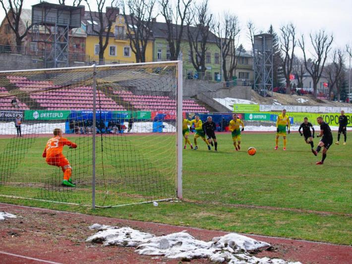 Рівненський Верес розпочав футбольну весну з перемоги
