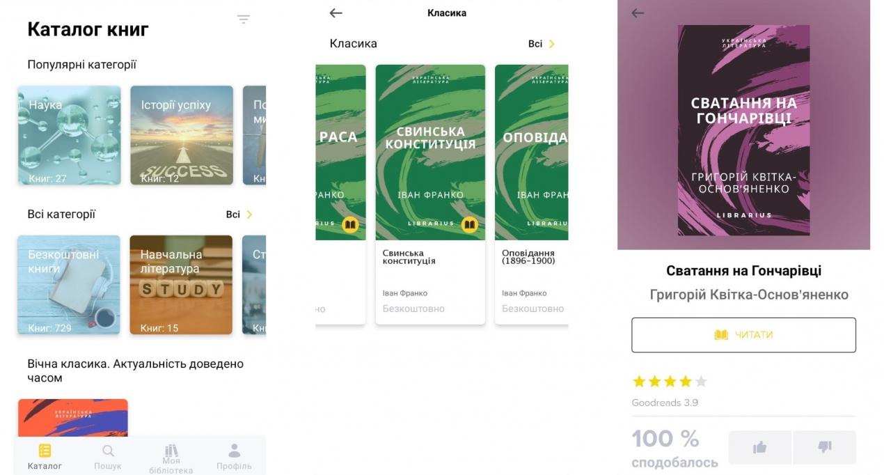 В Україні запрацювала електронна бібліотека Librarius з тисячами книг